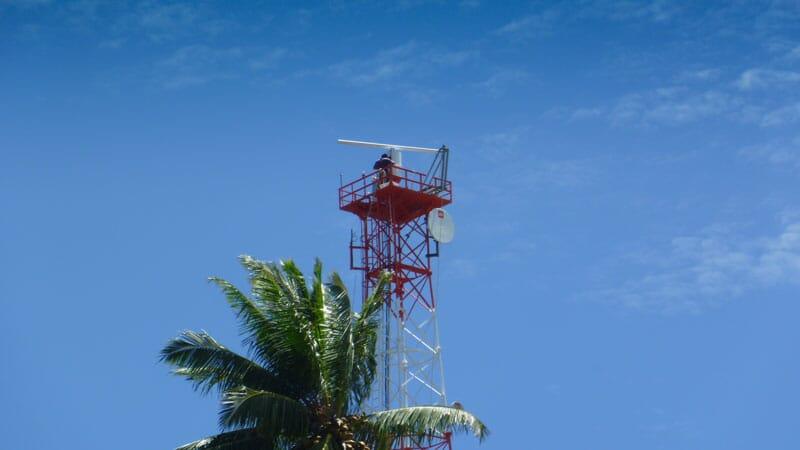 Elcome Integrated Systems Radar Coastal Surveillance System