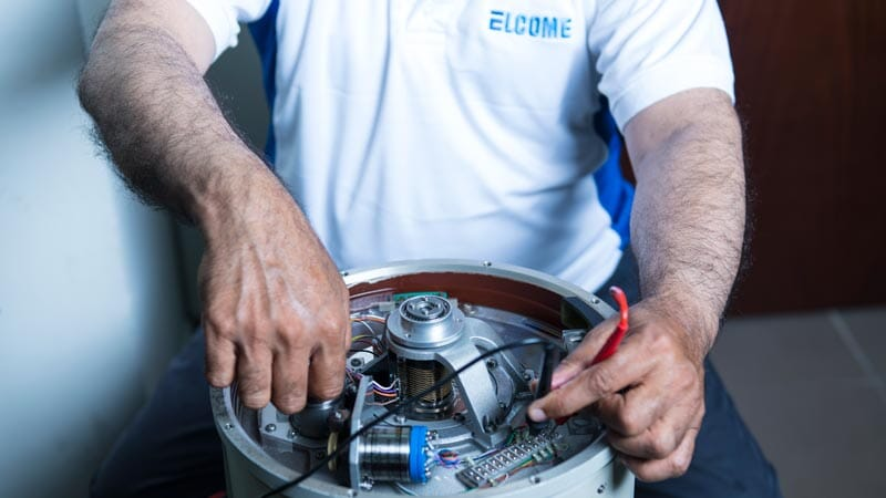 Elcome Integrated Systems Support Gyro Service