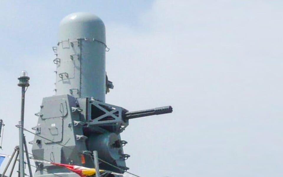 Elcome Integrated Systems Phalanx CIWS Upgrade